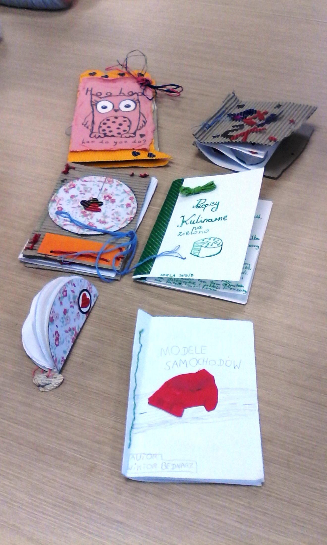 """Tworzymy """"Książkę artystyczną"""""""