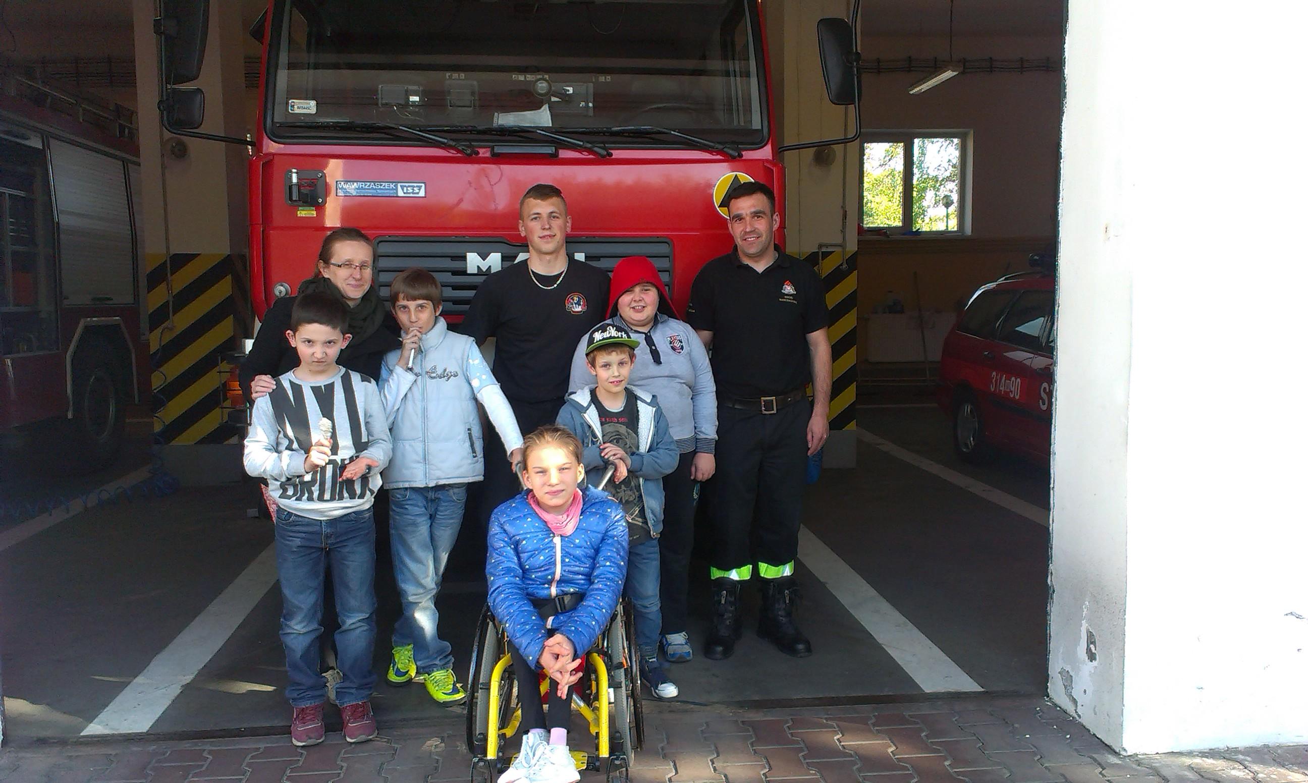 Wizyta w Jednostce Straży Pożarnej – wtorek 26 kwietnia